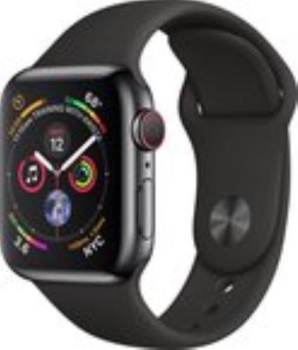 Renewd Apple Watch Series 4 - space gray/black - 40mm