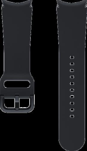 Samsung Sport Band (20mm, S/M) - Zwart - voor Samsung Galaxy Watch 4
