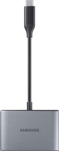 Samsung Multiport Adapter (USB-C to USB-A + HDMI + USB-C) - zwart