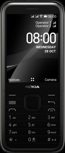 Nokia 8000 4G DS Zwart