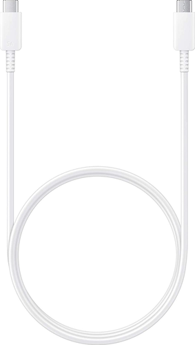 Samsung super fast charging data cable USB-C to USB-C - max 45W (5A) - wit