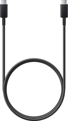 Samsung super fast charging data cable USB-C to USB-C - max 45W (5A) - zwart