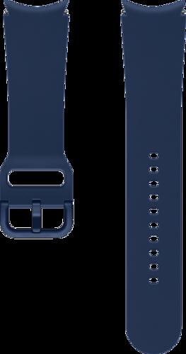 Samsung Sport Band (20mm, M/L) - Navy blauw - voor Samsung Galaxy Watch 4
