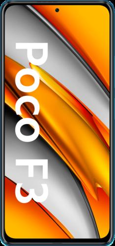 Xiaomi POCO F3 128GB - blauw