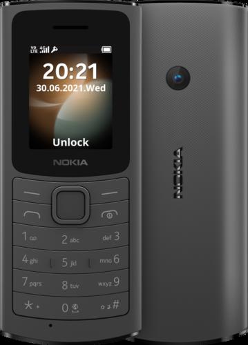 Nokia 110 4G TA-1407 DS BNFL BLACK