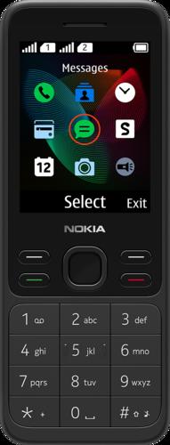 Nokia 150 - DS - Zwart
