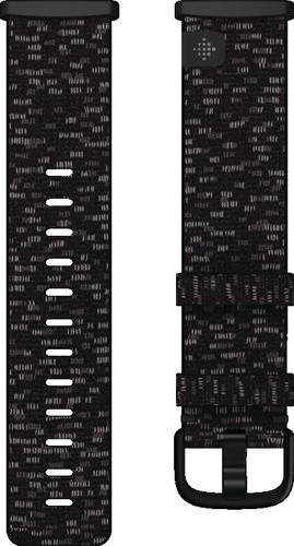 Fitbit Versa 3/Sense - Geweven Band - antraciet - small