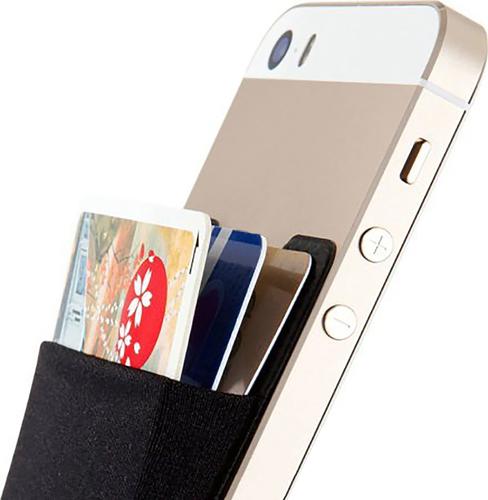 Funtastix Phone Elastic Backpack - zwart