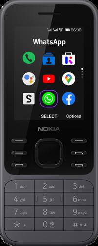 Nokia 6300 4G DS Steenkoolgrijs