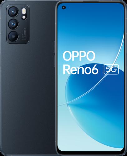 OPPO RENO6 -5G- 8+128G - Stellar Black