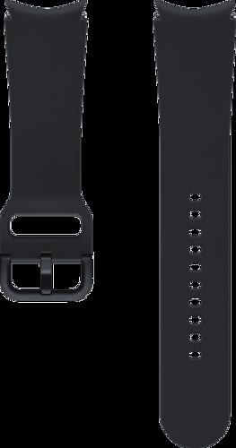 Samsung Sport Band (20mm, M/L) - Zwart - voor Samsung Galaxy Watch 4