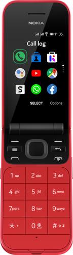 Nokia 2720 - rood - dual sim