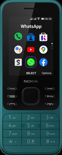 Nokia 6300 4G DS Cyan groen