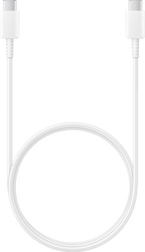 Samsung datakabel USB-C to USB-C - wit