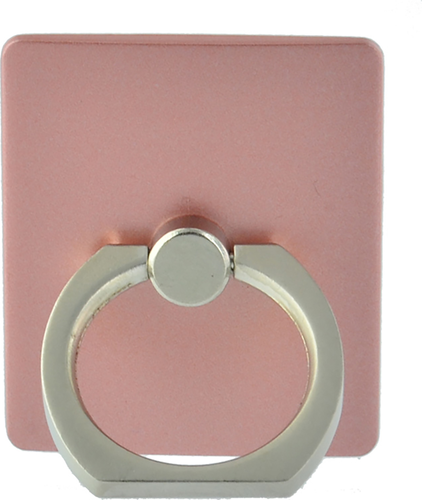 Funtastix Phone Ring with stand function - roze
