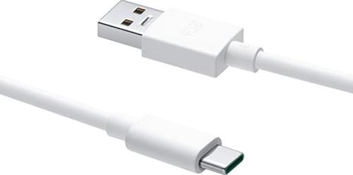 Oppo Super VOOC type C charging cable  - zwart