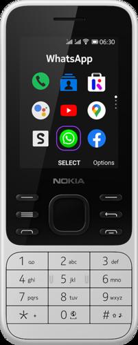 Nokia 6300 4G DS Wit