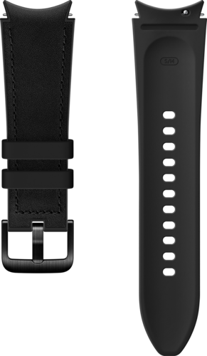 Samsung Hybrid Band (20mm, M/L) - Zwart - voor Samsung Galaxy Watch 4