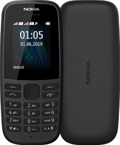 Nokia 105 Neo - zwart - dual sim