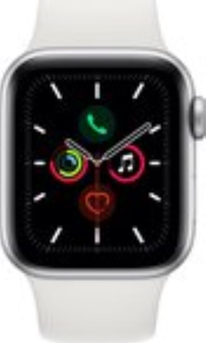 Renewd Apple Watch Series 5 - silver/white - 44mm