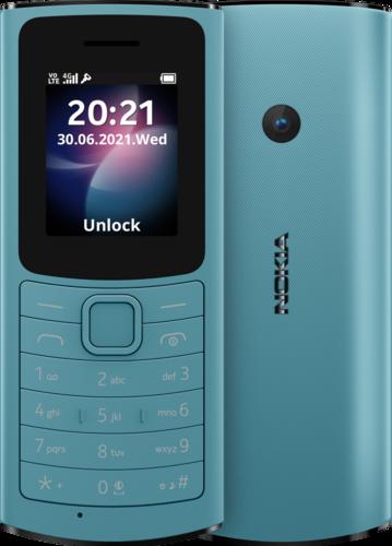 Nokia 110 4G TA-1407 DS BNFL AQUA