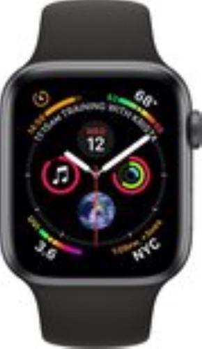 Renewd Apple Watch Series 4 - space gray/black - 44mm