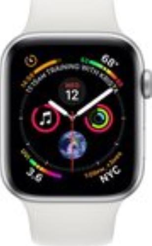 Renewd Apple Watch Series 4  - silver/white - 44mm
