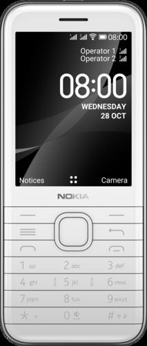 Nokia 8000 4G DS Wit