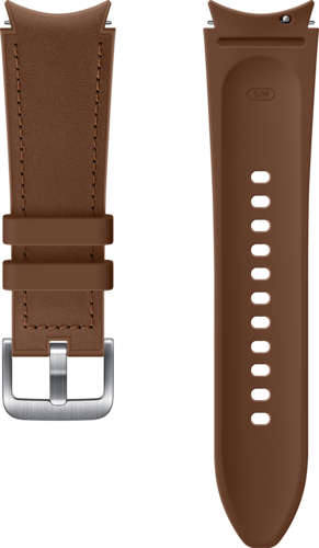 Samsung Hybrid Band (20mm, M/L) - Camel - voor Samsung Galaxy Watch 4