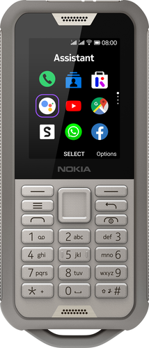 Nokia 800 Tough Dual Sim - Grey Sand