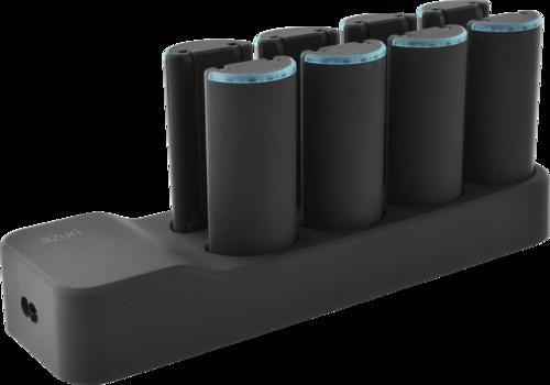 Azuri powerstation with 8 battery packs - Micro x Light & USBC x Light - 2600mAh