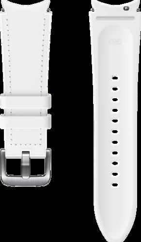 Samsung Hybrid Band (20mm, S/M) - Wit - voor Samsung Galaxy Watch 4