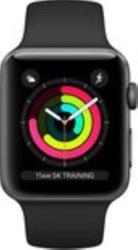 Renewd Apple Watch Series 3 - space gray/black - 38mm